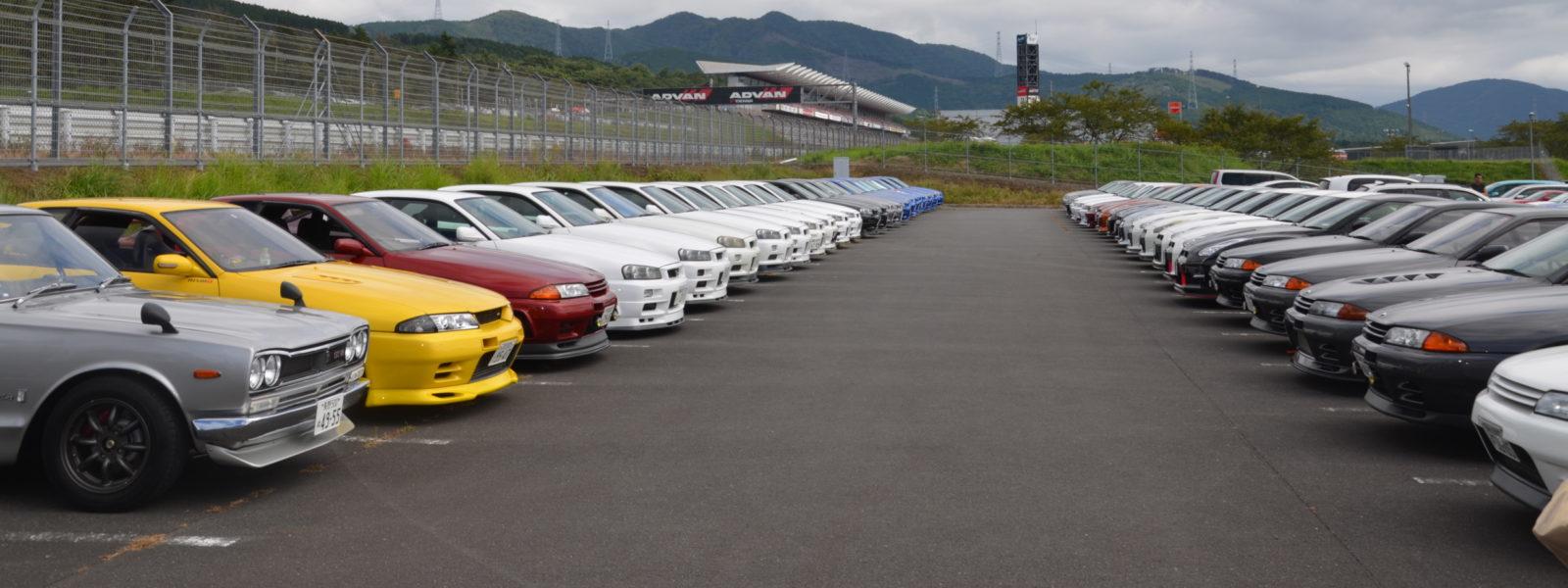 GT-R オーナーズミーティング&パレードラン in ツインリングもてぎ